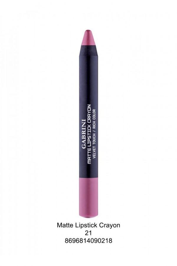 Matte Crayon 1 Lipstick # 21