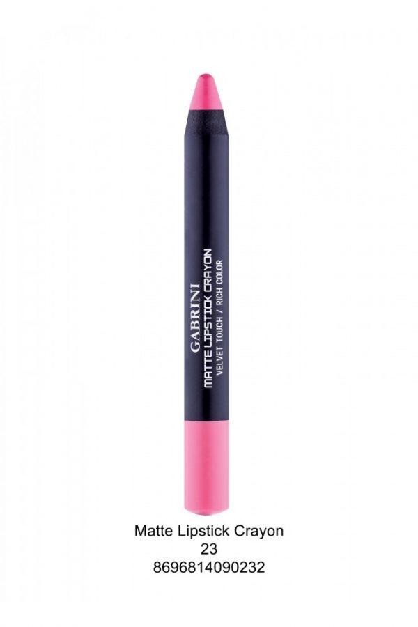 Matte Crayon 1 Lipstick # 23