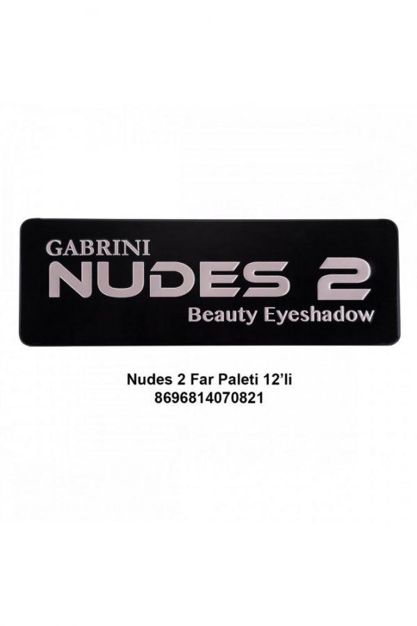 Nudes 2 Eyeshadow Palette