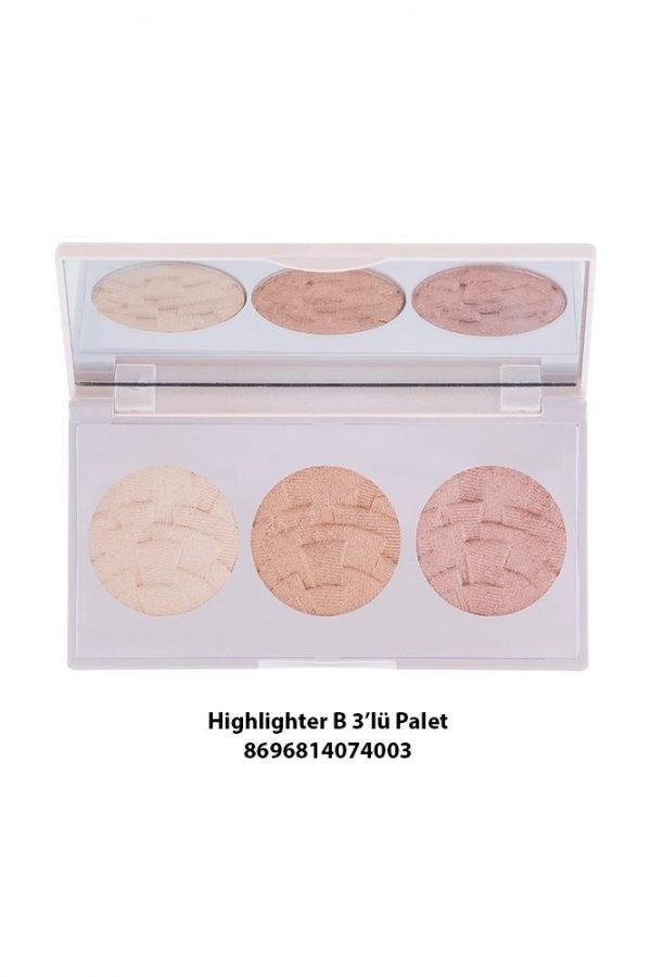 Highlighter 3 IN 1 (Palette) B