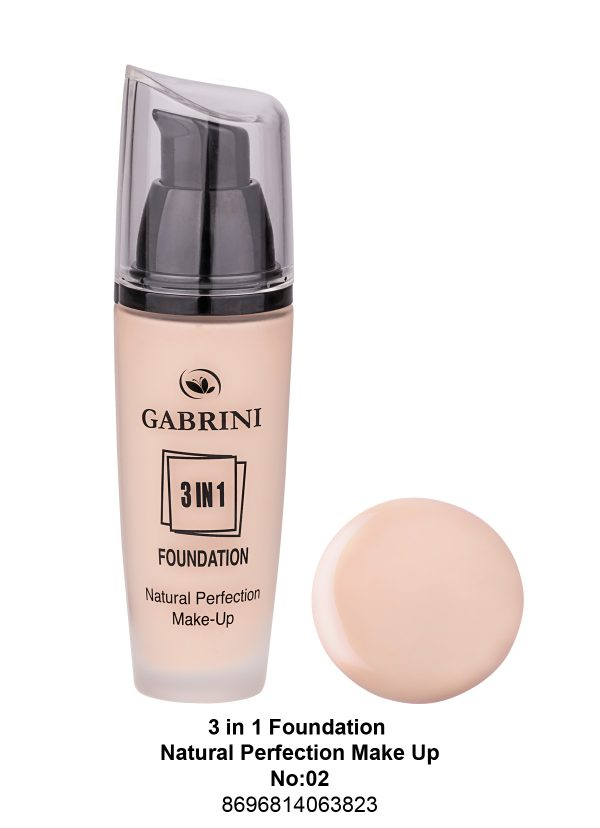 3 In 1 Foundation (Natural Perfection Makeup) # 02