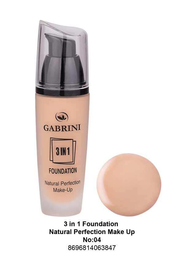 3 In 1 Foundation (Natural Perfection Makeup) # 04