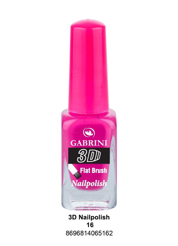 Gabrini 3D Nail Polish # 16