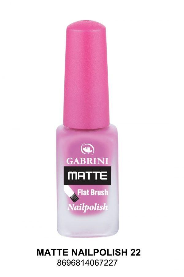 Matte Nail Polish # 22
