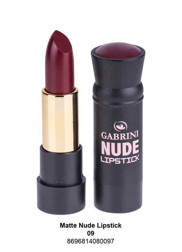 Nude Matte 01 Lipstick #09